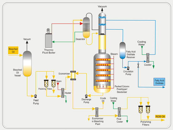 Edible Oil Refining Processes Degumming Neutralization