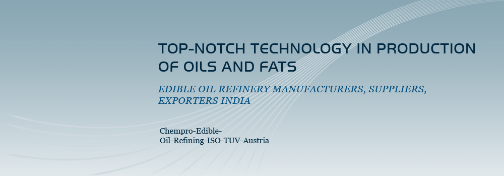 Edible Oil Refinery Machinery Manufacturers, Suppliers